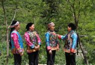 羌藏妇女服饰