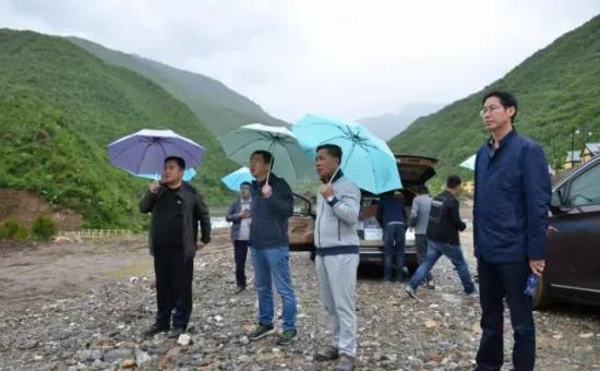 李兴华深入宕昌调研官鹅沟大景区旅游产业开发工作