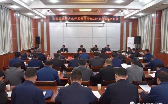 宕昌县召开旅游产业开发领导小组2018年第一次会议