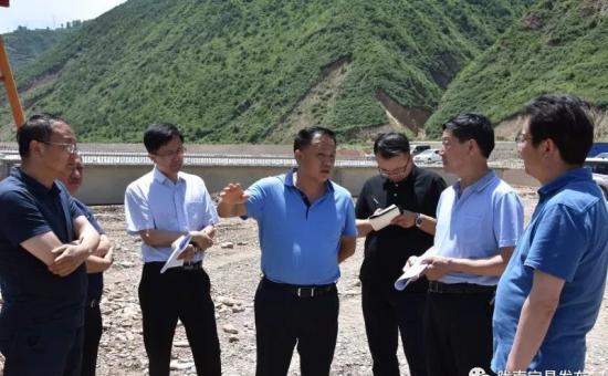 张庆宏深入宕昌县调研易地扶贫搬迁工作
