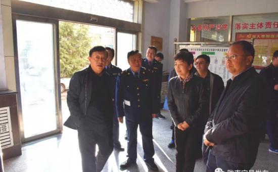 副市长任丽梅在宕昌县检查调研工商人社工作