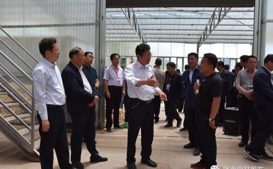 全省贫困村合作社规范化建设现场推进会在宕昌县召开